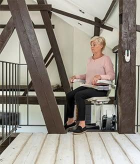 Treppenlift Hinderniserkennung