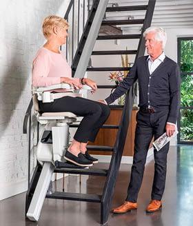 Treppenlift Steuerung